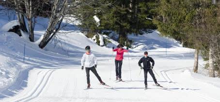Itinéraires ski de fond