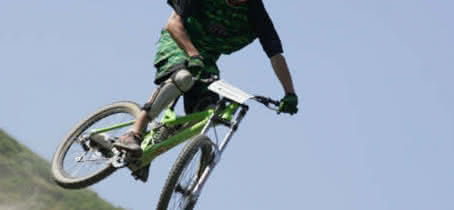 saut bike park valmorel